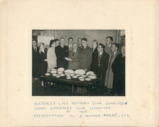 Bletchley LMS Presentation to E. Skipper, 1953