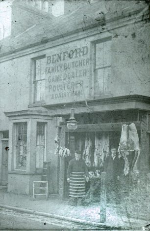 Benford's during the early years