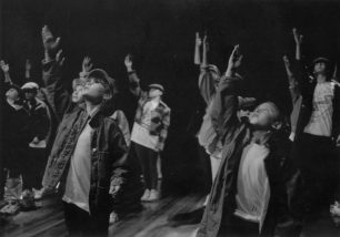 Dance in the City, Living Archive production at Stantonbury Theatre, 1997