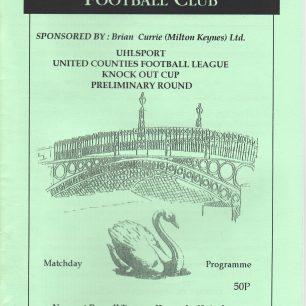 Newport Pagnell v's Harrowby, 1997
