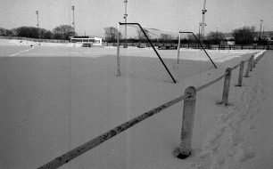 Snow at Manor Fields