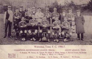 Wolverton Town, 1906