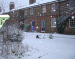 Spencer Street in the snow