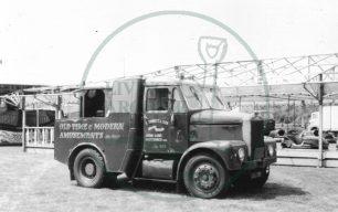 K. Emmett & Sons vehicle at Willen, Milton Keynes