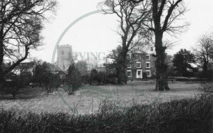 All Saints' Church and the Rectory Cottage, Loughton