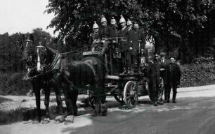Horse-drawn Fire Engine, Fenny Stratford
