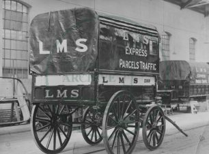 LMS Horse-drawn Parcel Delivery, Wolverton