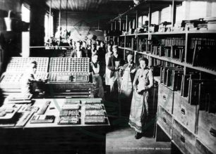 Composing Room, McCorquodales Printing Works, Wolverton