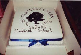 Cedars Centenary Cake