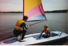 Willen lake August 1988