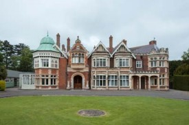 Frontage Bletchley Park Mansion
