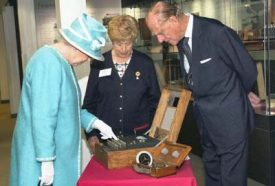 Queen's visit to Bletchley Park