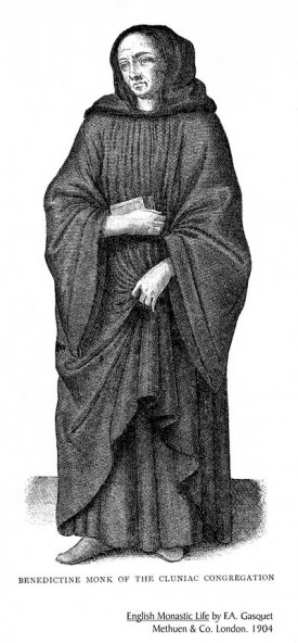 Benedictine Monk from a Cluniac order.