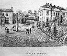Old Picture Aspley Classical Academy 1800's