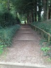 Pathway from Church to The Mount, Aspley Guise
