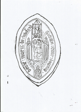Seal of Tickford Priory
