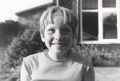 Close up of me aged ten smiling