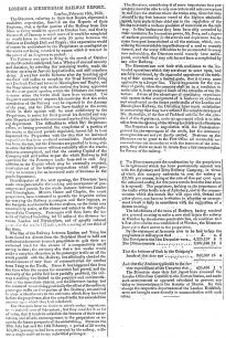 Newspaper - Half Yearly Report of the London and Birmingham Railway (1838).