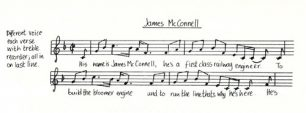 All Change 'James McConnell' music and lyrics (Act 2 - Sc.2).