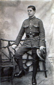 Albert French in uniform