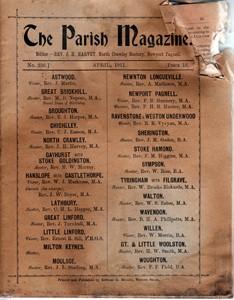 The Parish Magazine, Newport Pagnell Issue no.232 (April 1911)
