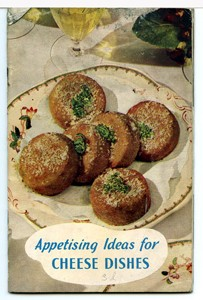 'Appetising ideas for Cheese Dishes'