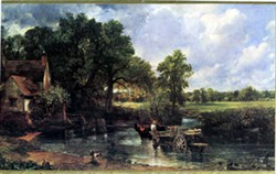 Print of Constable's 'The Hay Wain'
