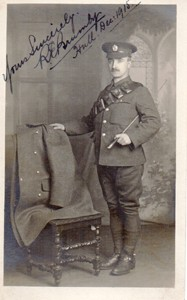 Photograph of a Soldier