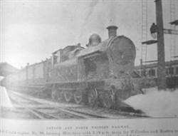London and North Western Railway Train