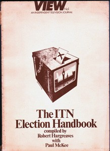 View N01 An Independent Television Journal The ITN Election Handbook