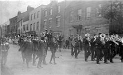 Parade in Stony Stratford High Street