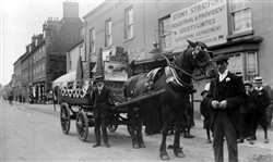 Horse and Cart from Stony Stratford Parade