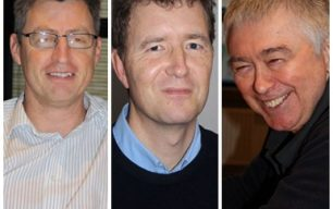 Audio recording of Nick Freer (b. 1959), Andy Hiorns (b. 1963) and Ken Baker (b. 1941)