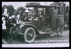 Slide of the 'Chief Umpire' vehicle.