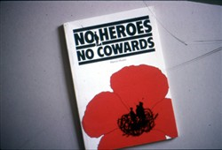 Colour slide of Hawtin Mundy's book 'No Heroes No Cowards'.