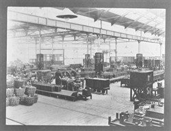 Photograph of the cell shop, Wolverton Works