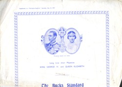 Buck Standard Pictorial Supplement of the Coronation Festivities