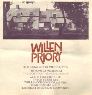 Leaflet of Willen Priory