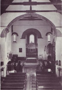 Postcard of The Nave of All Saints' Church, Brixworth, Northants