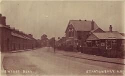 Postcard of Newport Road, Stantonbury