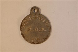World War One Identity Tag for Harold Godwin