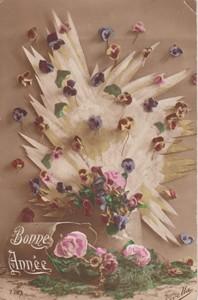 Postcard 'Bonne Annee'