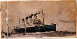 Photograph of R.M.S. Britannic