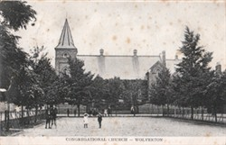 Postcard of the Congregational Church, Wolverton