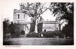 Postcard of Old Wolverton Church