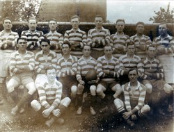 Olney RFC 1st XV team 1920-21