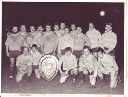 Olney RFC team with Lewis Shield