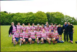 Olney Ladies RFC Midlands 2 League Winners, National Challenge Cup Champions