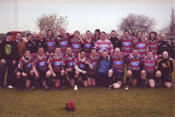 Olney RFC 1st XV, Southern Counties North League Winners 2007-08