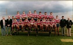 Olney RFC 1st XV team 1995 - 1996